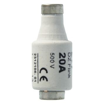 Plieger zekering snel 20 ampere 5 stuks