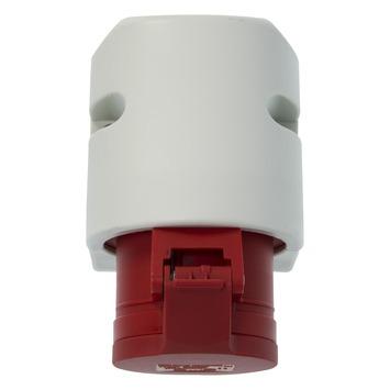 Cee geaard stopcontact 5-polig 400V grijs