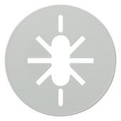 Plieger plafondplaat universeel wit