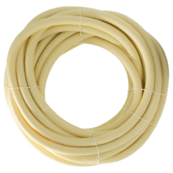 "Attema elektrabuis PVC flexibel crème 3/4"" 19mm 20 meter"