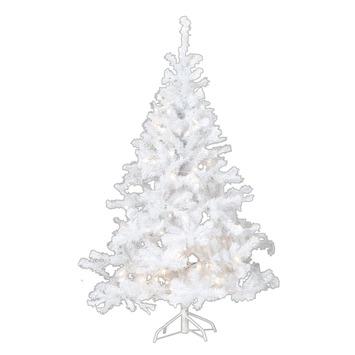 Kunstkerstboom met 135 lampjes wit kopen? Kerstverlichting | KARWEI