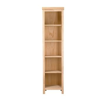WOOOD boekenkast Kai 205x51x36 cm onbehandeld eiken kopen? | KARWEI