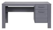 WOOOD bureau Dennis grenen staalgrijs 74x141x59 cm