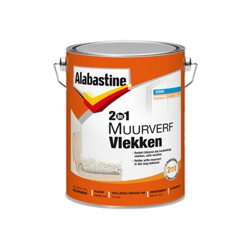 Alabastine 2in1 muurverf vlekken 5 l