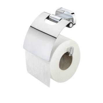 Tiger Lucca toiletrolhouder met klep chroom