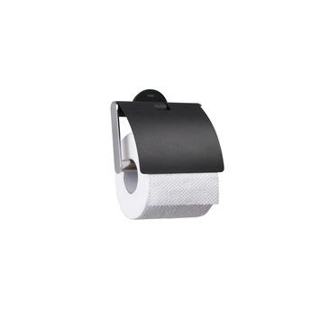 Sealskin Metropolitan toiletrolhouder met klep chroom