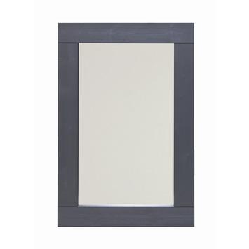 Woood spiegel britt 90x60 cm grenen lijst gelakt for Spiegel 90x60