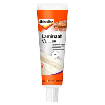 Alabastine laminaatvuller 50 ml wit