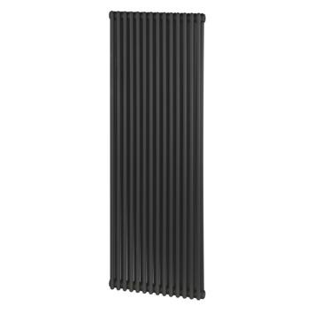 Haceka designradiator Kalahari antraciet 1200 mm x 420 mm