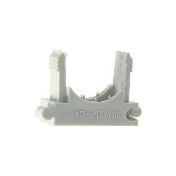 Plieger drukzadel grijs 12-20 mm (25 stuks)