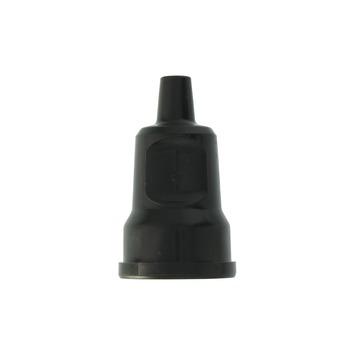 Contrastekker RA PVC Zwart