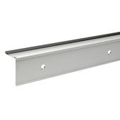 Flexxstairs trapprofiel deluxe aluminium mat zilver 119 cm zelfklevend (5 stuks)