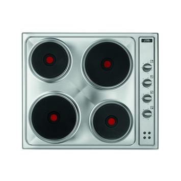 Etna elektronische kookplaat TEK161RVS 4-pits 58cm