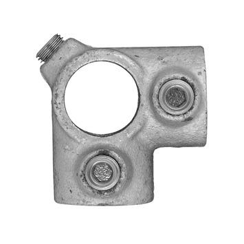 Novidade steigerbuis koppelstuk hoekstuk 27 mm verzinkt