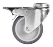 Novidade steigerbuis zwenkwiel diameter 75 mm 27 mm verzinkt