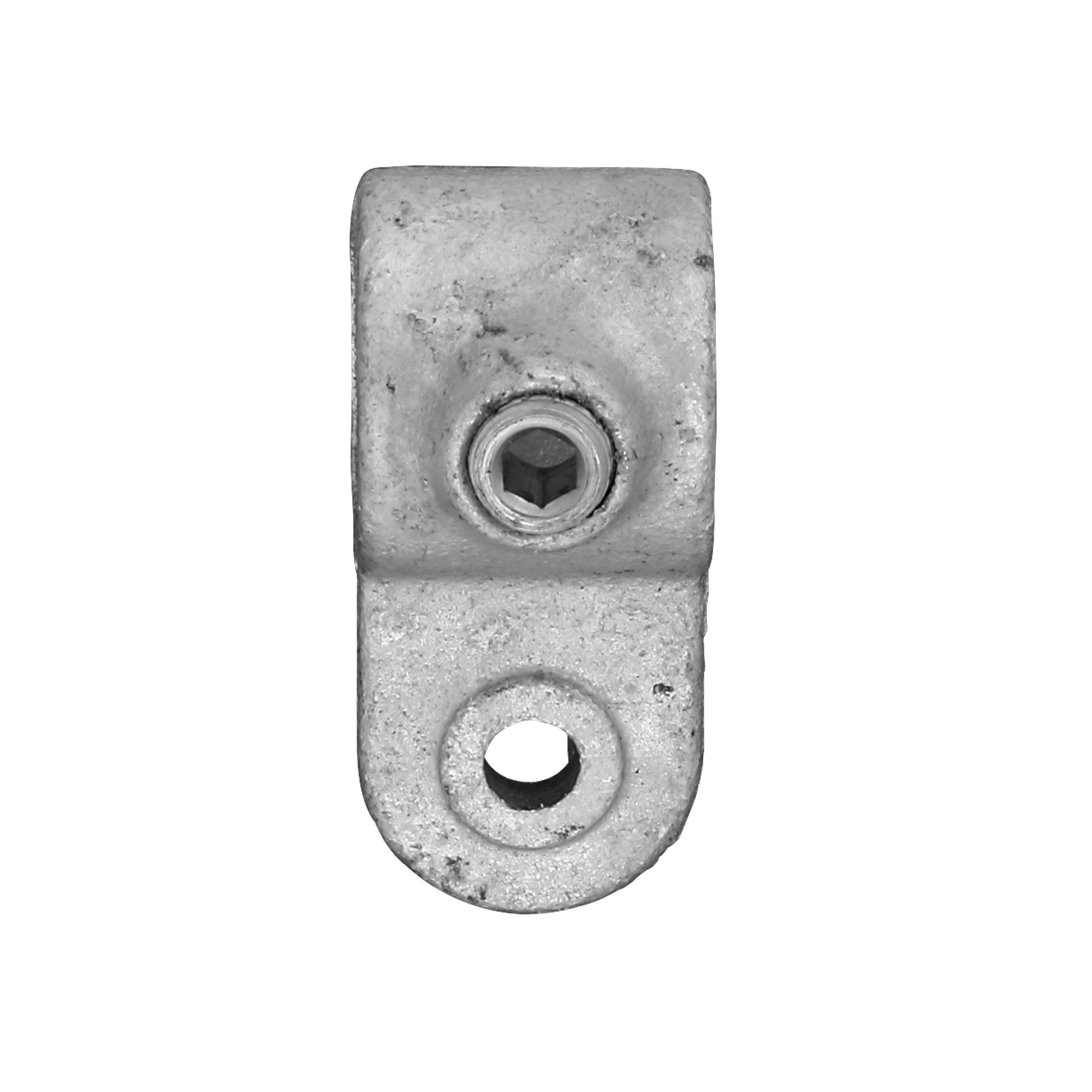 Novidade steigerbuis koppelstuk oogdeel 27 mm verzinkt