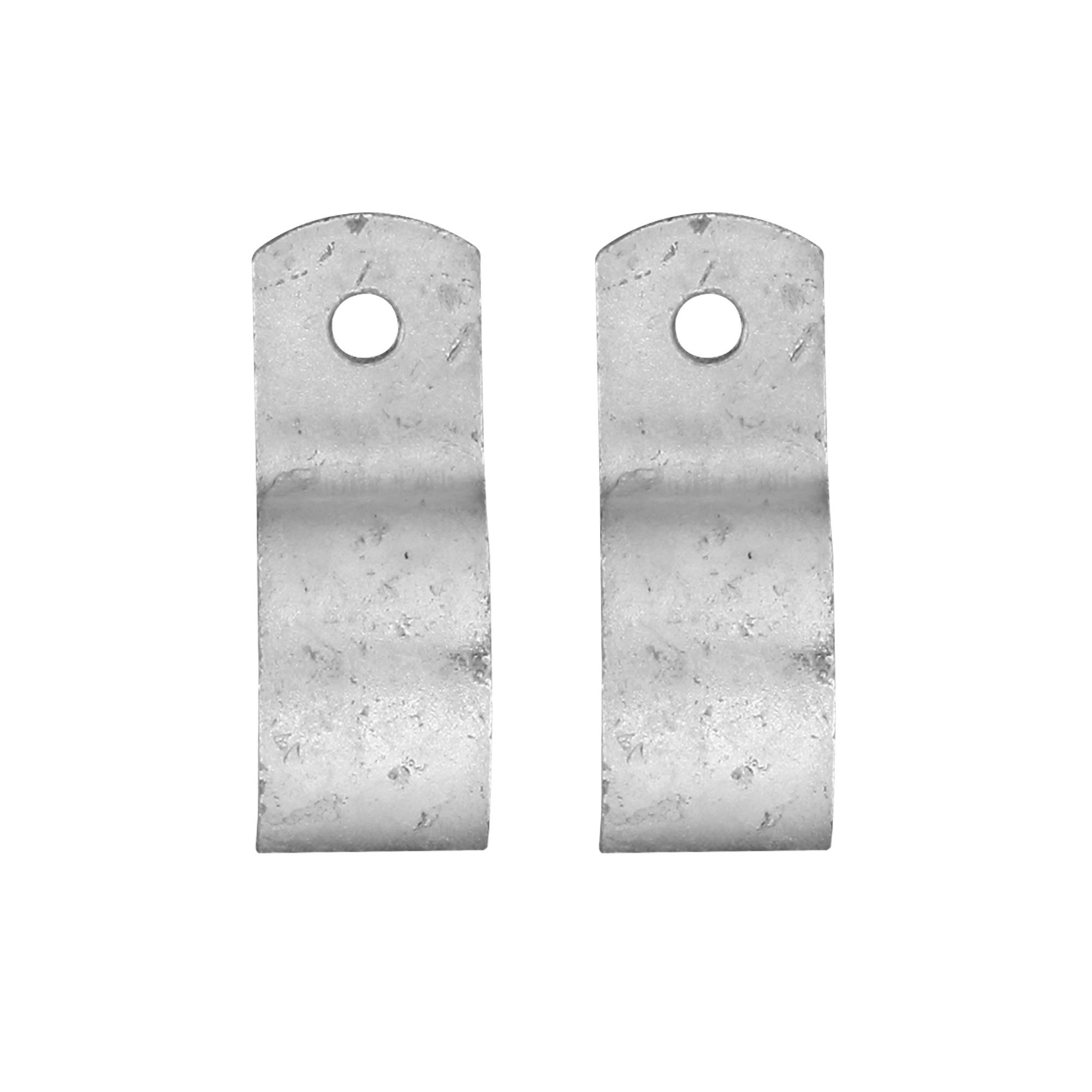 Novidade steigerbuis koppelstuk kapbeugel 27 mm verzinkt
