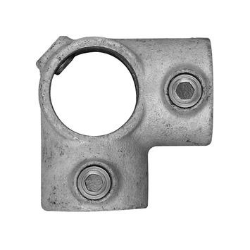 Novidade steigerbuis koppelstuk hoekstuk 42 mm verzinkt