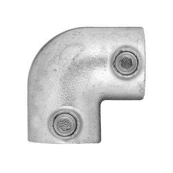 Steigerbuis 42mm kniestuk rond
