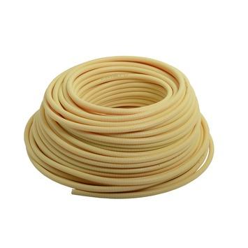 "Pipelife elektrabuis PVC flexibel crème 5/8"" 16mm Low Friction 100 meter"
