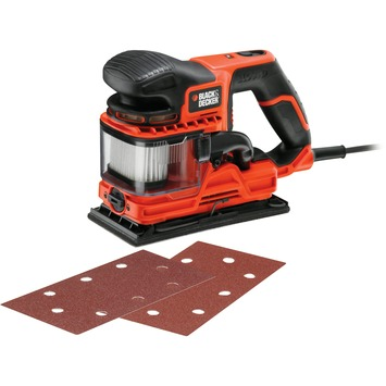 Black + Decker vlakschuurmachine Duo Sand KA330E-QS