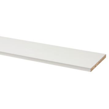 Meubelpaneel wit 305x30 cm dikte 18 mm