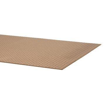 Hardboard bedplaat 200x90 cm dikte 5,5 mm