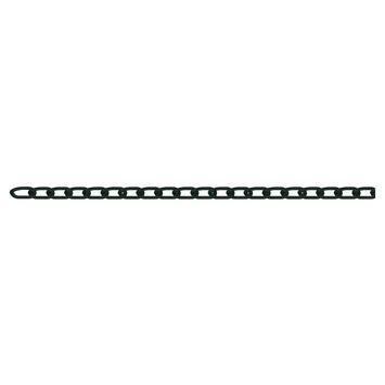 Dorner & Helmer ketting zwart 2,5 meter