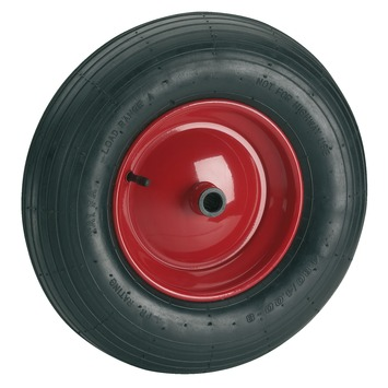 LUCHTBAND+VELG 400MM 20MM AS MAX.250KG