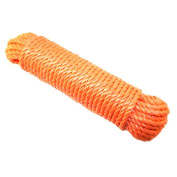 Ledent touw pp oranje Ø10 mm / 20 m