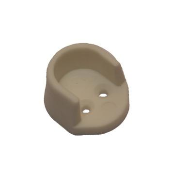 KARWEI kastbuishouder pvc wit 15 mm (2 stuks)