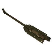Staartrol bocht 400mm verzinkt