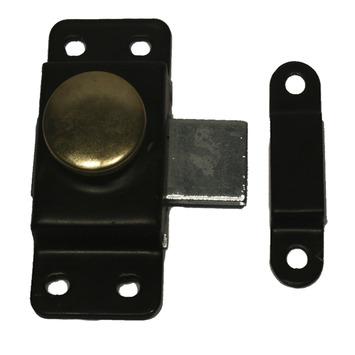 Krukschuif zwart 30 mm