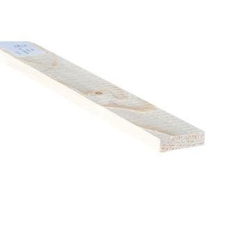 Bouwhout vuren ruw 10x38 mm; lengte 210 cm