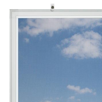 Bruynzeel vaste raamhor s500 105x125 cm wit