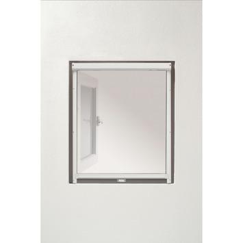 Bruynzeel raamrolhor s500 68x150 cm wit