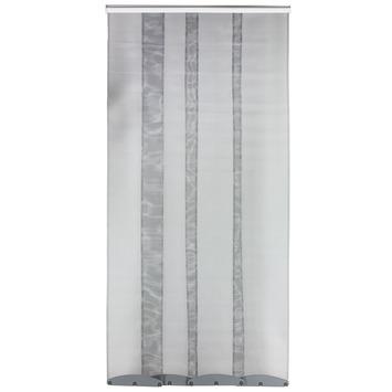 Bruynzeel lamellenhordeur s300 95x220 cm wit