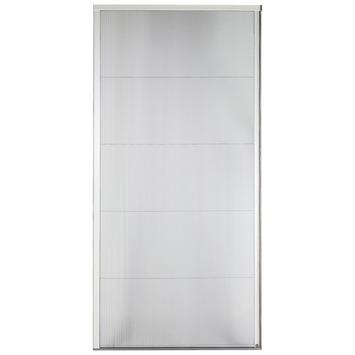 Bruynzeel plisséhordeur s500 98x199 cm grijs