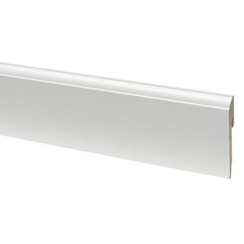 CanDo muurplint kwart rond wit gegrond 1,2 x 8 x 240 cm