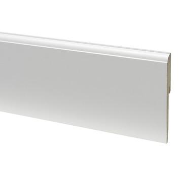 CanDo muurplint kwart rond wit gegrond 1,2 x 12 x 240 cm