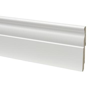 CanDo muurplint klassiek wit gegrond 1,3 x 12 x 240 cm