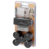 CanDo plintplug voor hoge muurplint zwart 25 stuks