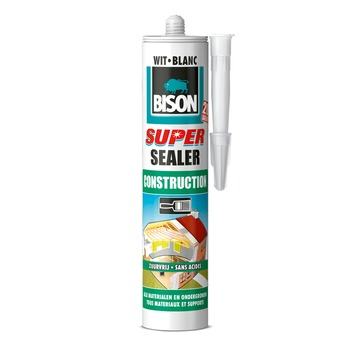 Bison super sealer construction wit 290 ml