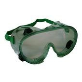 Skandia veiligheidsbril (overzetbril) groen