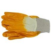 Skandia werkhandschoenen latex geel XXL