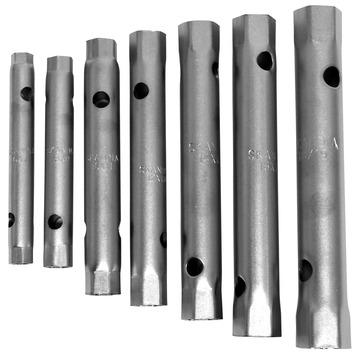 Skandia pijpsleutelset 6-19 mm (7-delig)