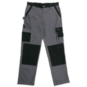 Gevavi werkbroek polyester/kat grijs mt 54