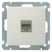 Plieger Luna stopcontact UTP CAT5 wit