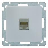 Plieger Luna stopcontact UTP CAT5 aluminium
