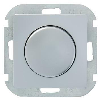 Plieger Luna dimmer aluminium voor halogeen-/gloeilamp